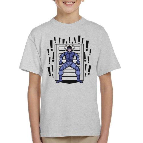 Alert Snake Metal Gear Solid Kid's T-Shirt