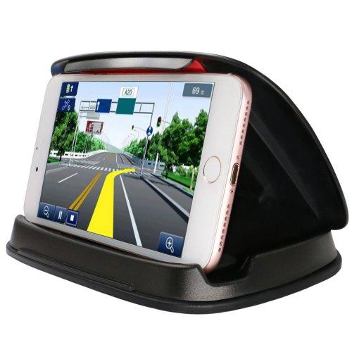 Samsung Galaxy S8 Universal Car Dashboard GPS Mount Holder  - Black
