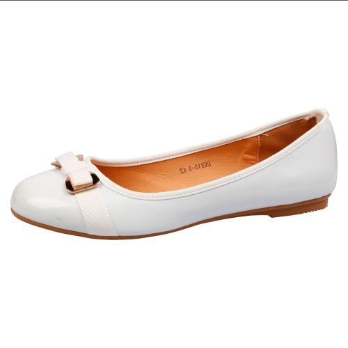 Dawn Womens Flats Slip On Ballerinas in Larger Sizes