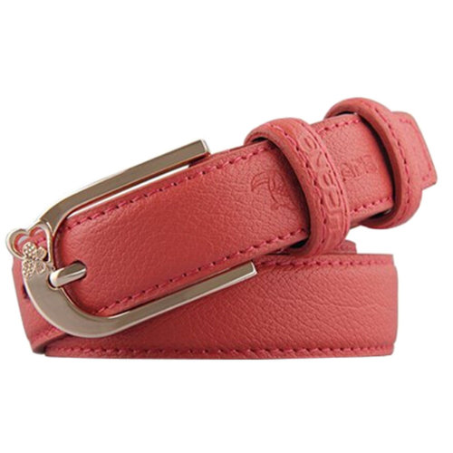 Orang Fashionable Ladies Leather  Waist belts Bales Catch  Pin buckle Casual