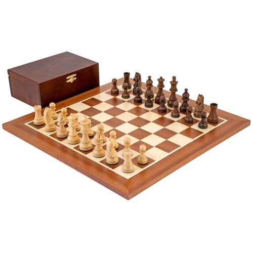 Down Head Sheesham Championship Chess Set