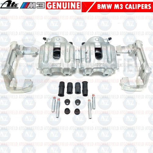 FOR BMW M3 E36 Z3 M 3.2 FRONT LEFT RIGHT LH RH BRAKE CALIPERS CARRIERS SLIDERS