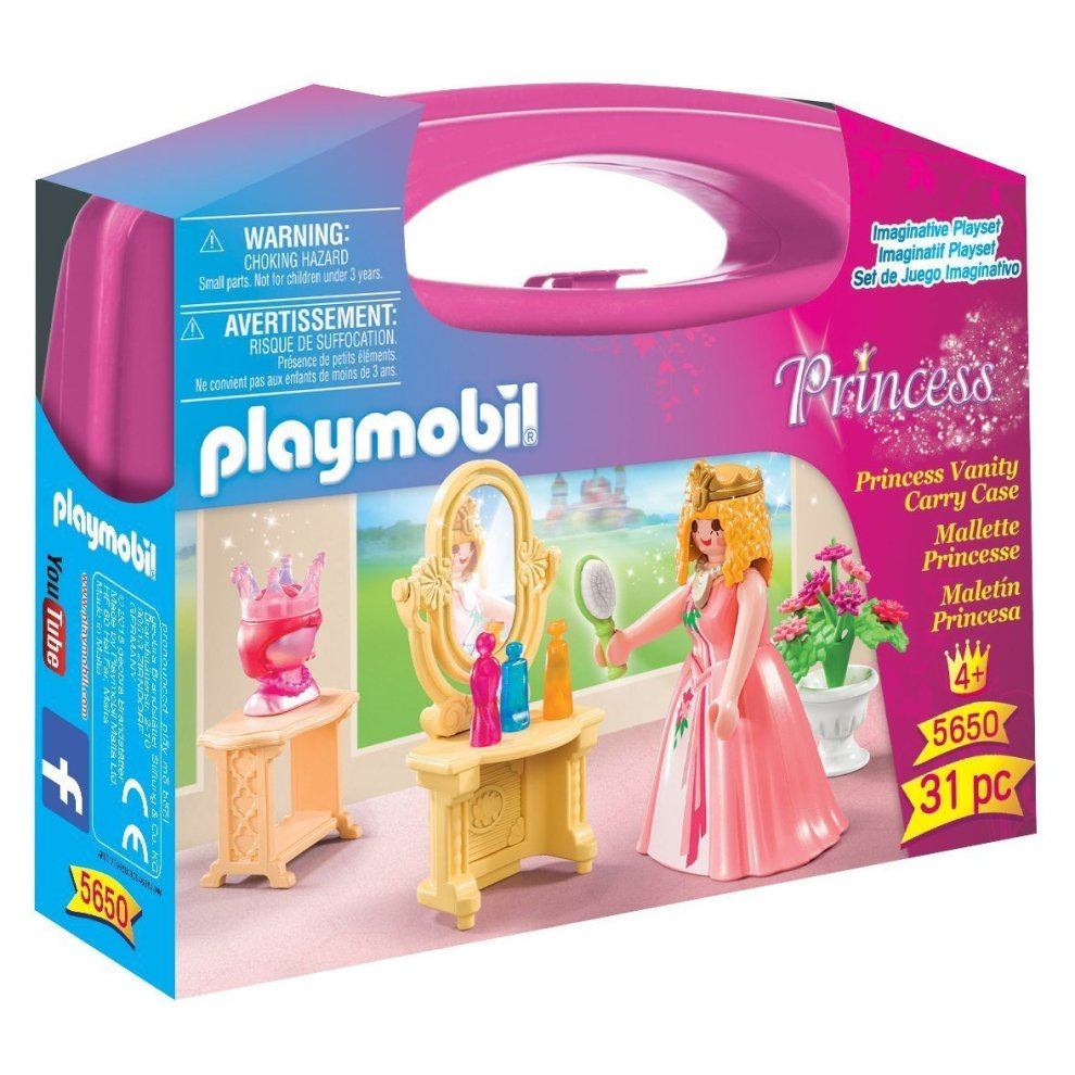 Playmobil 5650 Small Princess Vanity Carry Case On Onbuy