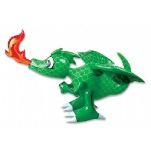 Inflatable 30 Inch Dragon Colors may vary Red or Green