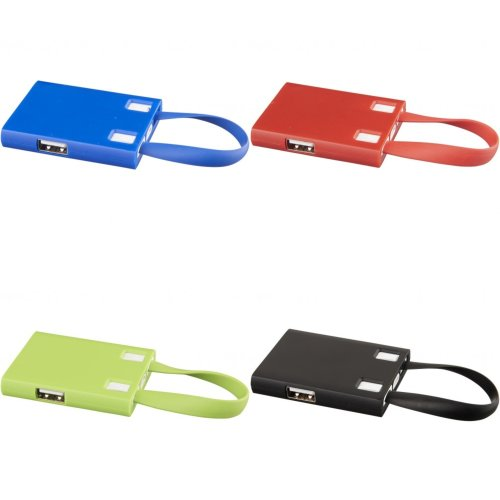 Bullet USB Hub And 3-In-1 Cables