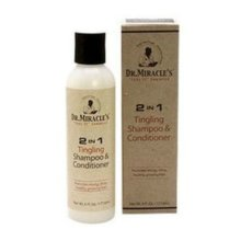 Dr Miracle's Tingling 2 in 1 Dandruff Shampoo & Conditioner 178ml