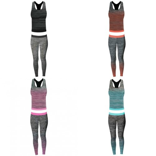 Sport Zone Womens/Ladies Vest Top And Leggings Set