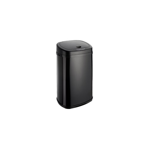 Dihl Onyx Rectangular Automatic Sensor Bin with Black Lid