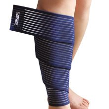 Set of 2 Leg Guard Safety Protector Calf Leg Support Band Twine Dark Blue