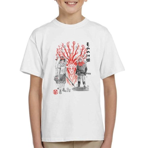 Wolf Princess Mononoke Kid's T-Shirt