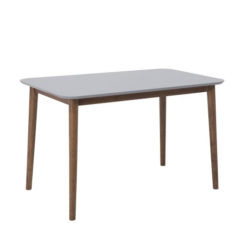 Wooden Dining Table 118 x 77 cm Grey MODESTO