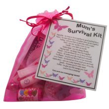 Mum's Survival Kit - Great present for Birthday, Christmas or just because ...