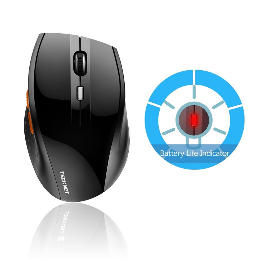 4c376ebeb62 ... 4 TeckNet M002 TrueWave 2.4G Wireless Mouse - Black - 5 ...
