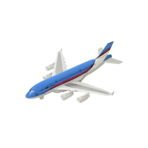 Children's Aircraft Model Toys Simulation Fighter / Airliner Boy Gift_A380#3
