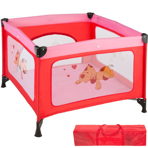 Baby Playpen Tommy Junior pink