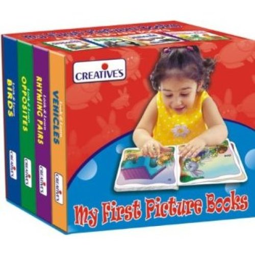 Creative Books Set Of 4 My First Picture Board Books - Cre055 -  books cre0554 creative my first picture board
