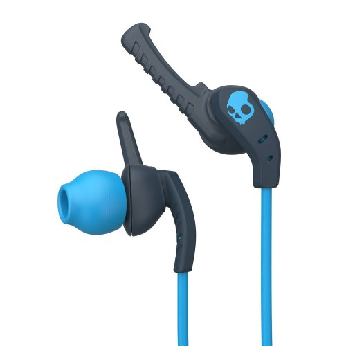 Skullcandy SCS2WIJX-477 XTplyo In-Ear Sport Earbuds with Mic - Teal/Acid
