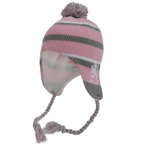 Childrens/Kids Scotland Peruvian Winter Thermal Bobble Hat With Tassels