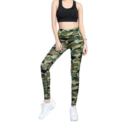Stylish Printing Design Quick-dry Pants Running Fitness Trousers Yoga Pants, #09