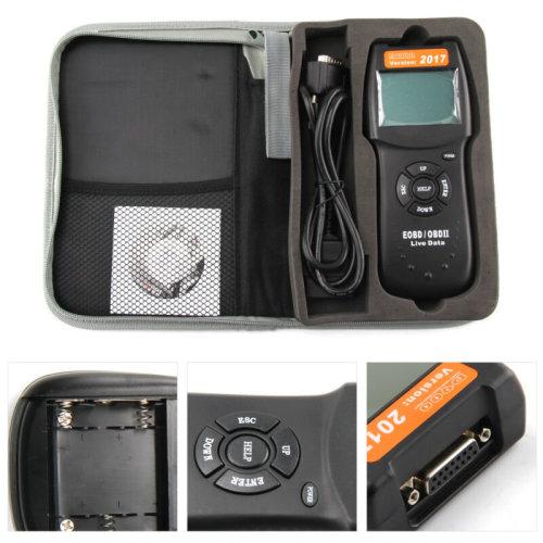 Universal Car Fault D900 Code Reader OBD2 EOBD CAN Diagnostic Scanner Tool
