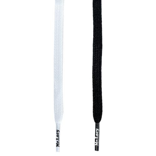 Mr Lacy Runnies Flat Sports Fashion Shoelaces Shoe Laces 120cm
