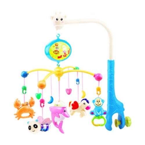 341 Contents in Chinese Musical Soothe Dreams Mobile,Animal Blue