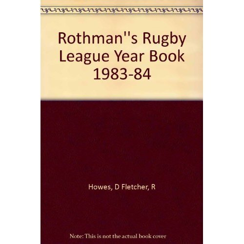 Rothman's Rugby League Year Book