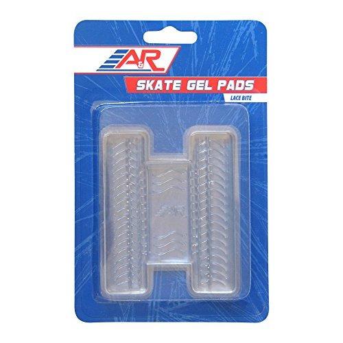 AR Sports Lace Bite Skate Gel Pad (Pair)