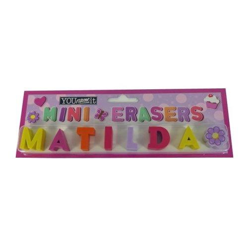 Childrens Mini Erasers - Matilda