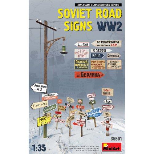 MIN35601 - Miniart 1:35 - Soviet Road Signs WWII