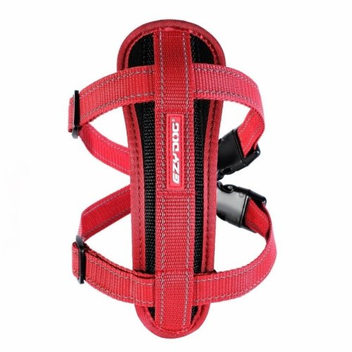 EZY-DOG CHESTPLATE HARNESS  (RED)