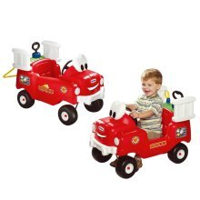 Little Tikes Spray and Rescue Fire Truck Red