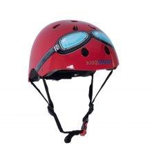 Kiddimoto Children's Bike / Scooter / Skateboarding Helmet - Goggle Design