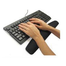 TRIXES Black Gel Wrist Rest Support Pad Wrist Rest for PC