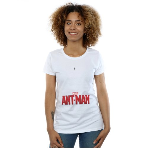 Marvel Women's Ant-Man Ant Sized Logo T-Shirt
