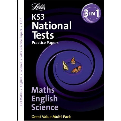 Letts Key Stage 3 Practice Test Papers - KS3 English, Maths & Science  Bind-Up National Test Practice Papers