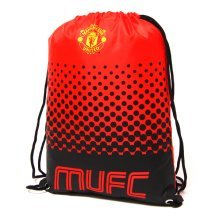 Manchester United F.c Fade Design Gym Bag - Fc Football School Gift Sports -  gym bag manchester united fc football school gift sports official
