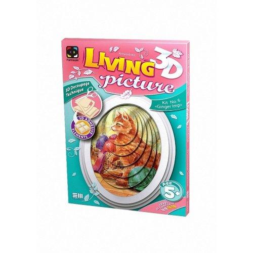 Elf956056 - Fantazer 3d Living Picture - Ginger Imp