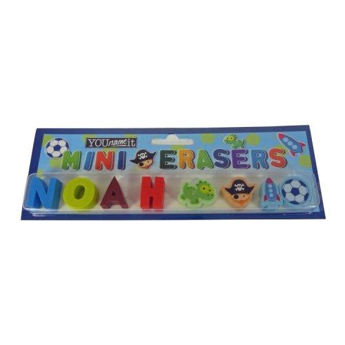 Childrens Mini Erasers - Noah