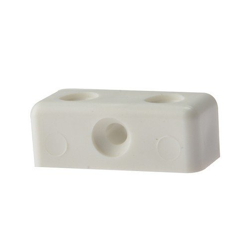 Forge 100MOD0 Modesty Block White No. 6-8 Bag of 100