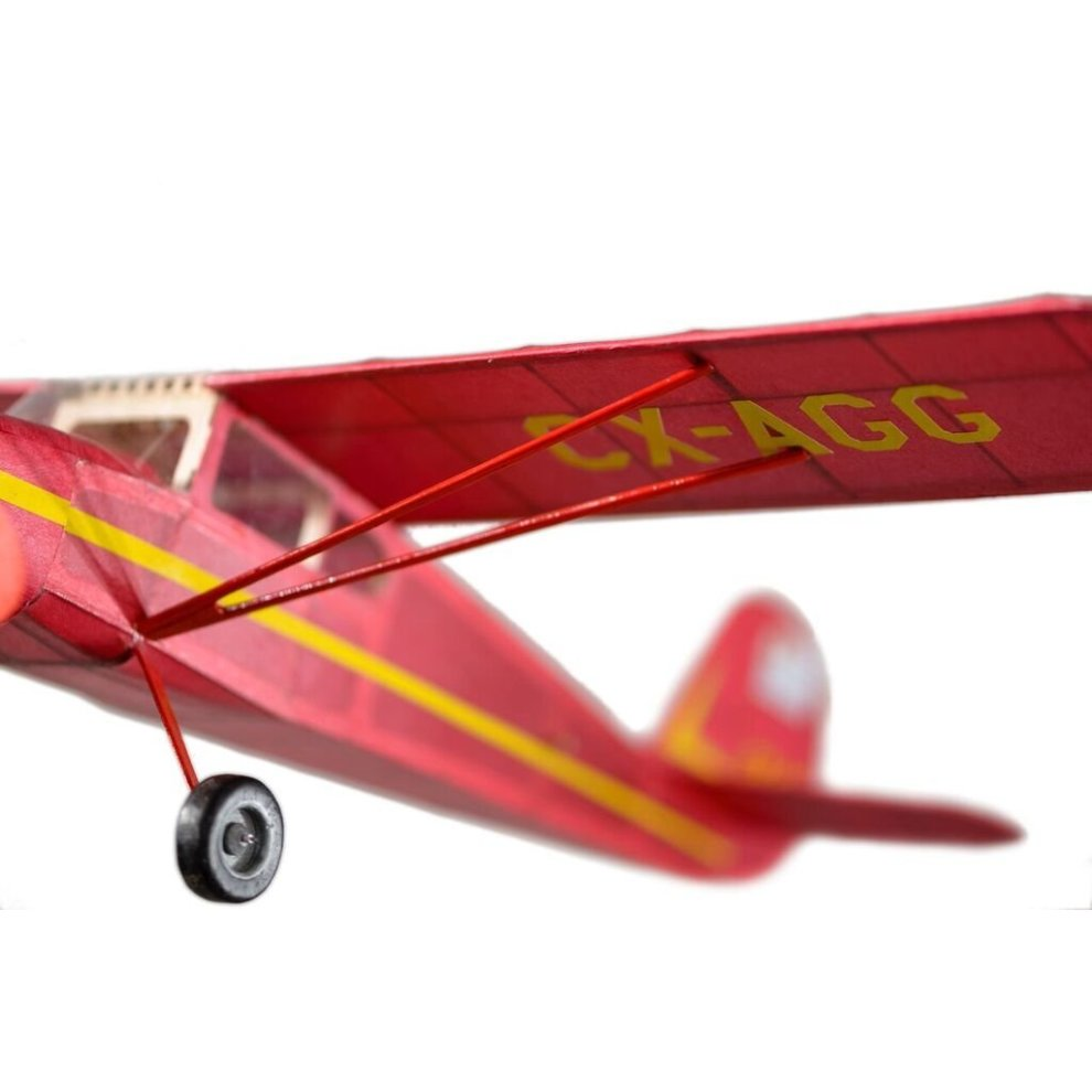Cessna 140 complete vintage model rubber-powered balsa wood aircraft kit  that really flies!
