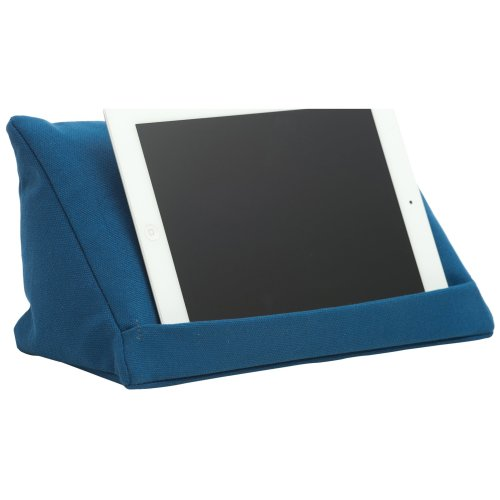 coz-e-reader® Plain Cushion Stand for Tablet - Blue