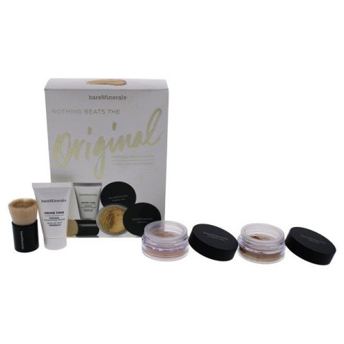 bareMinerals I0094966 Nothing Beats the Original Mineral - 07 Golden Ivory Foundation For Women - Set of 4