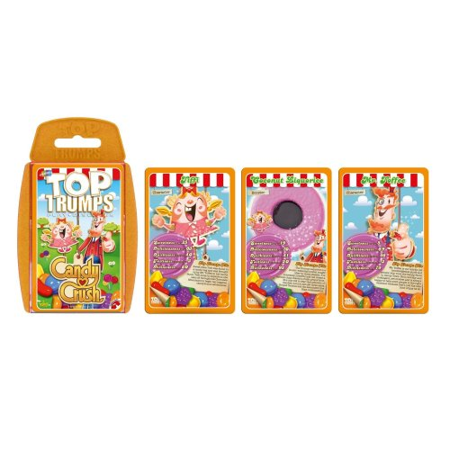 Candy Crush Top Trumps Specials Card Game