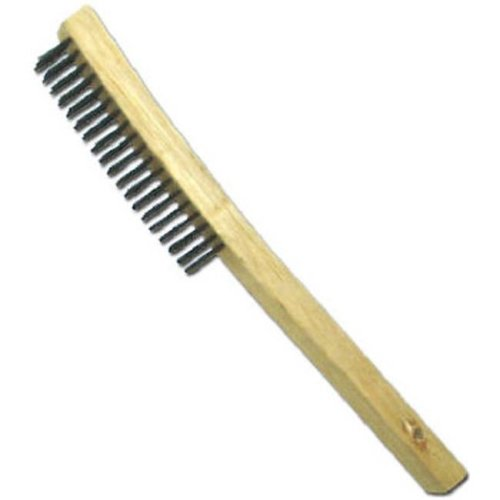 Abco Products 01711 Curved Long Handle Wire Brush With Scraper