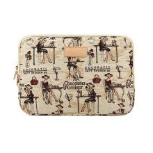 Fashion Design Laptop Bag Notebook Sleeve Coffee