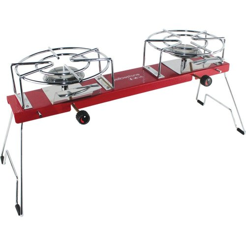 Yellowstone Steel Gemini Dual Cartridge Stove (Red)