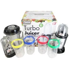 21 Piece Electric Wonder Juicer In Full Handled Colour Box -  21pc electric multi blender food processor turbo juicer smoothie maker chopper