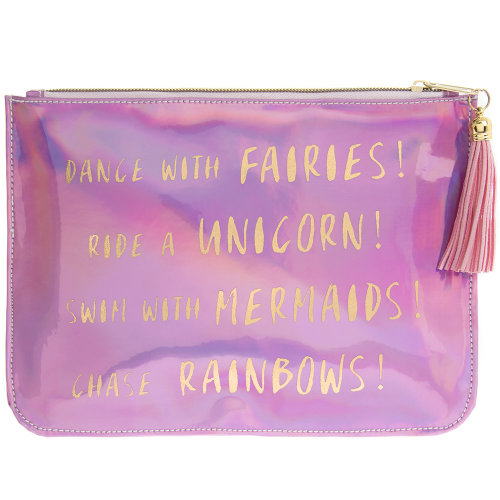 Fairy shimmer pouch