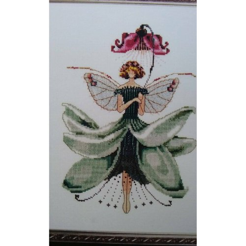 Pixie Couture Collection Magnolia Counted Cross Stitch Chart Pattern